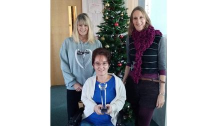 Shared Lives South West staff Amanda Greig, finance and short breaks administrator, SamanthaFinnon, admin,and...