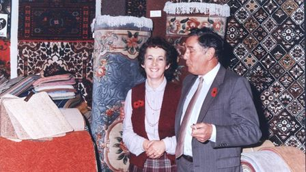 Pam and Charles Wilson in the 1970s
