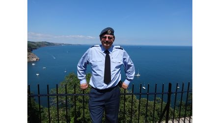 Picture of an RAF veteran