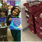 Pupils from North Bridge House School have collected donations for Camden Foodbank