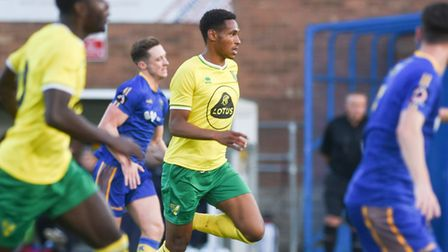 William Hondermarck was among the goal scorers for Norwich City U23s at Plymouth in the EFL Trophy P