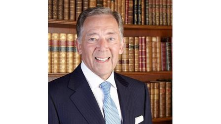 Picture of leading hotelier Harry Murray
