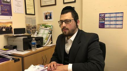 Levi Schapiro, founder of the charity Jewish Community Care in Clapton Common, has organised a drive to encourage other...