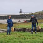 More than 60 peopletook part inthe Portishead Christmas Big Clean during the holidays.