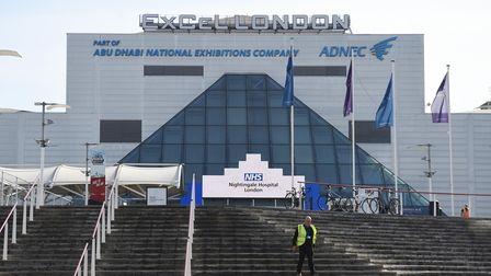 The ExCeL will be a vaccination hub