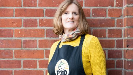 Photo of FoodCycle CEO Mary McGrath