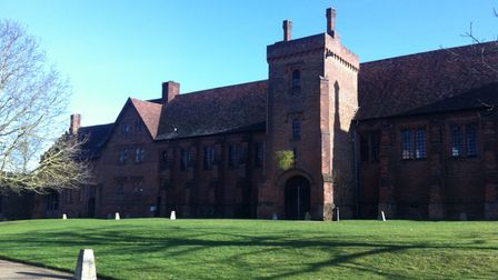 The Old Palace at Hatfield House on a sunnywinter's day.
