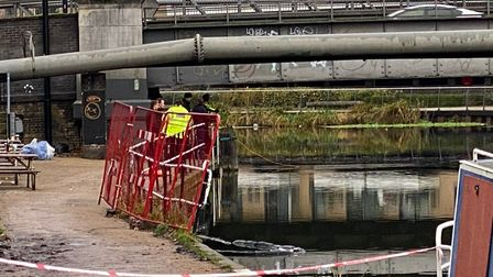 Police were called on January 6 at 7pm to reports that a man had fallen from a boat into the River Lea near Lea Bridge