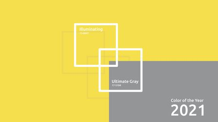 Pantone Colour of the Year 2021, Ultimate Grey and Illuminating