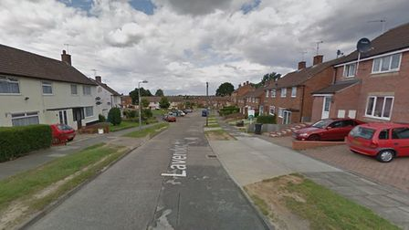 The incident took place on Lavender Hill in Ipswich