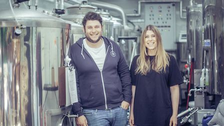Rob and Sam Laub run the Gorgeous Brewery on North Hill, Highgate.