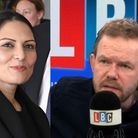 LBC's James O'Brien has reacted to Priti Patel's defence of the police decision to add Extinction Re