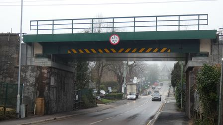 Cuffley's train bridge has been upgraded