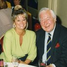 Sally Allen with Denis Charles Scott Compton CBE
