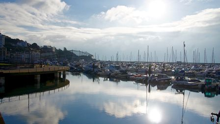 Torquay's outer harbour