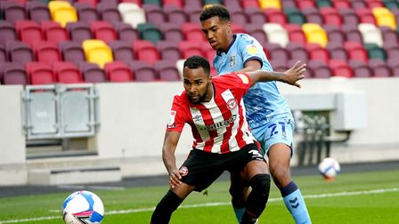 Norwich City left back Sam McCallum is getting regular football on loan at Coventry City