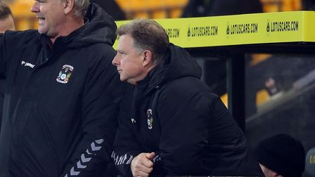 Coventry City manager Mark Robins had no complaints at his side's FA Cup third round exit against Norwich City