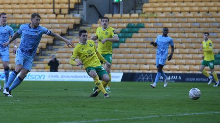 Kenny McLean slotted Norwich City in front against Coventry City in a 2-0 FA Cup third round win