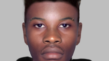 An e-fit of the man police want to speak to regarding a robbery in Islington