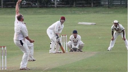 Weston during their 14 run win over Ilminster in 2019