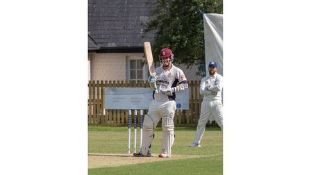 Clevedon Cricket Club new signing Will Plummer