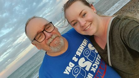Edward Folkard is current in intensive care after testing positive for coronavirus. His daughter Katie is trying to raise money to thank the staff looking after him.