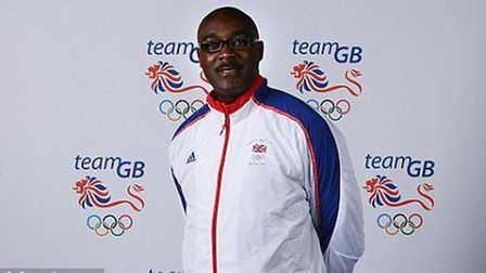 Lloyd Cowan coach of Christine Ohuruogu