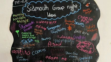 Sidmouth Group Night Ideas