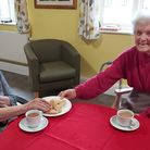 Orchard House care home residents