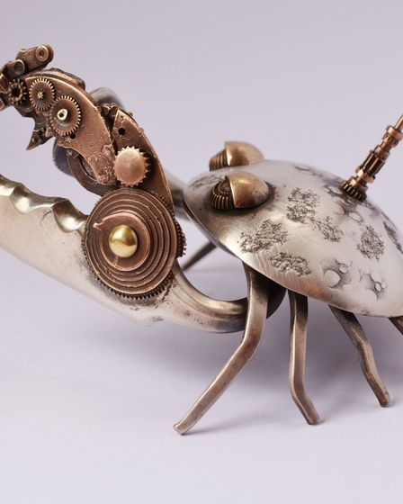 Work by Silversmith Shelley Anderson