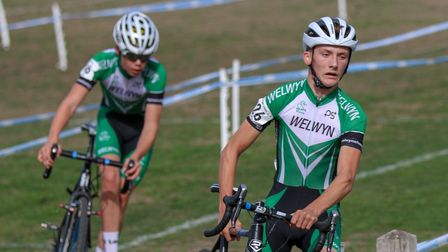Joe Kiely and Euan Woodliffe in action for Welwyn Wheelers