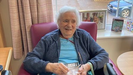 Molly Rice was among 61 Kirkley Manorresidents vaccinated.