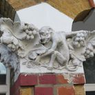 A Victorian home in Park Road with monkey plasterwork