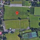 Location of Winscombe rugby club