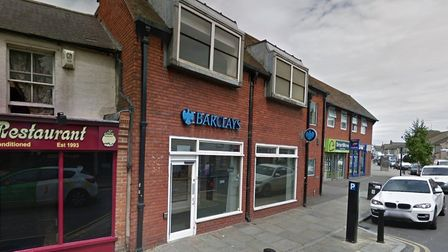 The Barclays bank in Rainham Village is also set to close in May.