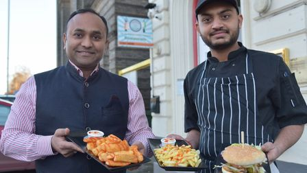 Vijay Jetani who runs Namaste Village Indian Restaurant in Norwich has started a new vegetarian and