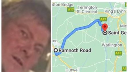 The body of Sidney Meads who was reported missing from Wisbech has been found 14 miles away in Norfolk. Police say his...
