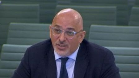 Vaccine minister Nadhim Zahawi at a commons committee