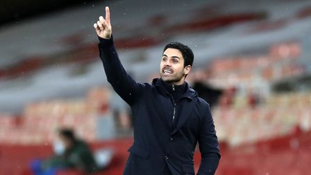 File photo dated 16-12-2020 of Arsenal manager Mikel Arteta.