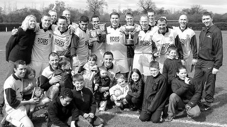 Riders Intersport also won the Intermediate Cup in 2001.