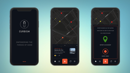 What Curbism's new app may look like.