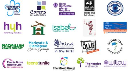 The 20 shortlisted charities in the running for a share of Ashtons' £10,000.