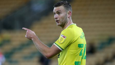 Ben Gibson of Norwich during the Sky Bet Championship match at Carrow Road, Norwich Picture by Paul