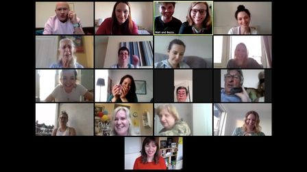 North London Cares' Zoom meeting