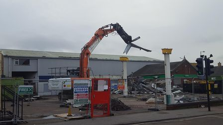 Work has begun on a new McDonald's in Mill Road, Kirkley. Photo: Mark White