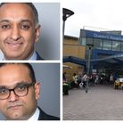 GPs Dr Anil Mehta and Dr Jagan John spent a shift supporting their colleagues at Queen's Hospital who have been working flat out.