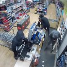 The Liverpool gang raids the Co-op at Kilkhampton following a crime spree through North Devon and into North Cornwall