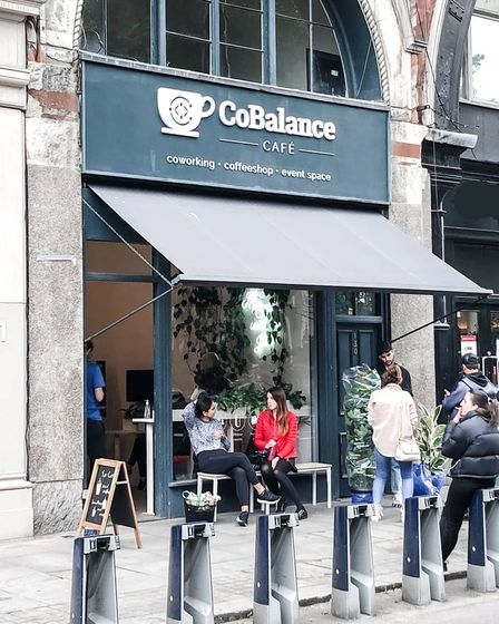 CoBalance Café on Shoreditch High Street