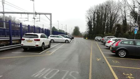 Harpenden Station car park