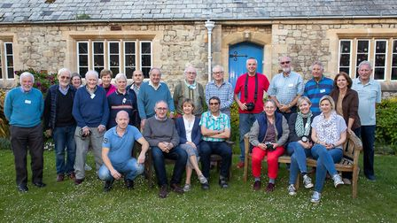 Sidmouth Photographic Club members.
